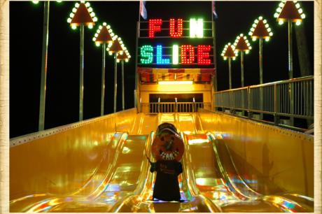 90' Mega Fun Slide