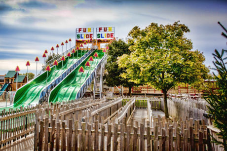 90' Mega Fun Slide