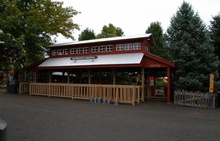 Train Station at Bengtson's Pumpkin Farm
