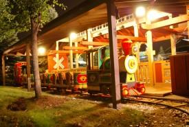 Train at Bengtson's Pumpkin Farm