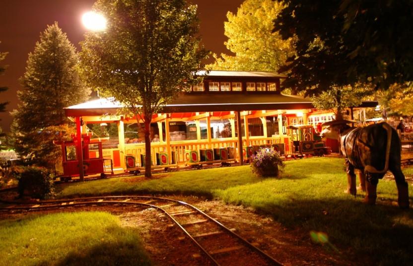 Train night time 6