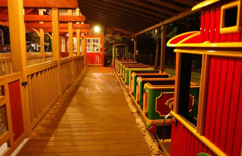Train night time 8