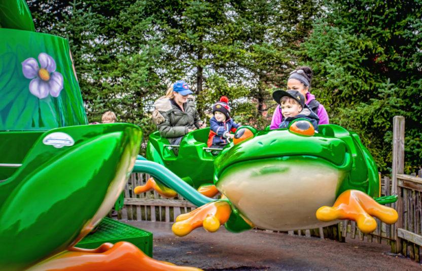 frog amusement ride
