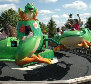 Flying Frogs Ride