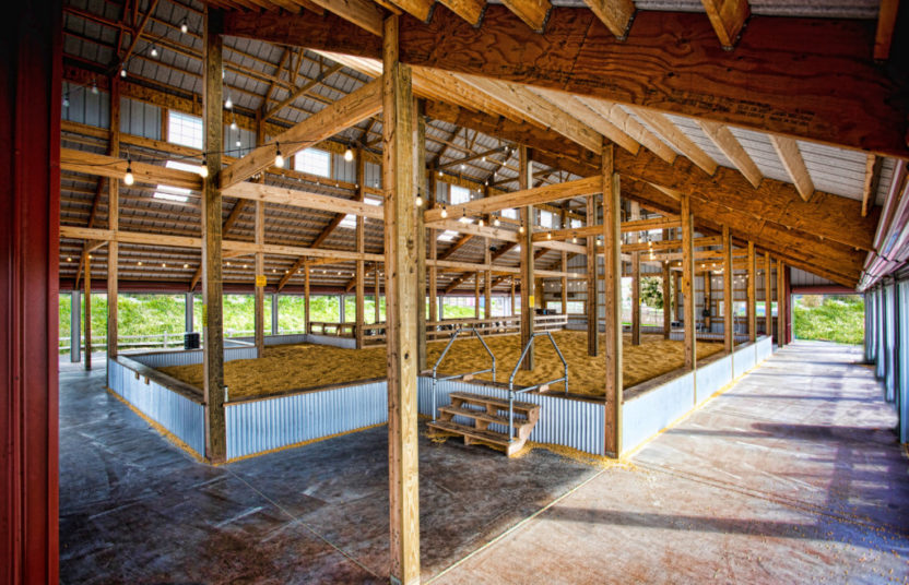 Corn Kernel Pool Barn at Bengtson's Pumpkin Patch