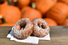 Apple cider doughnuts are much more than typical carnival food in Chicagoland.