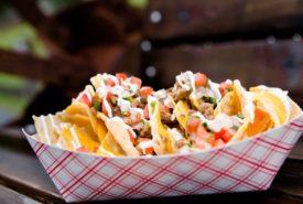 cheesy Mexican nachos