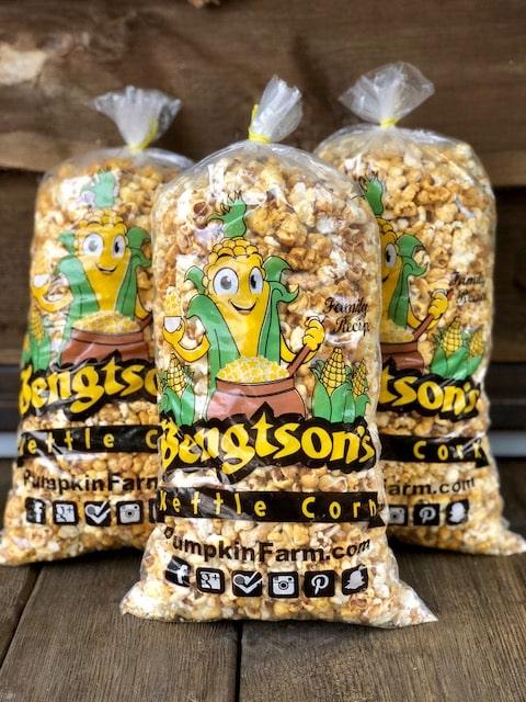 Kettle Corn at Bengtson Farm