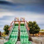 Six Lane 90 foot Fun Slide at Bengtson Farm