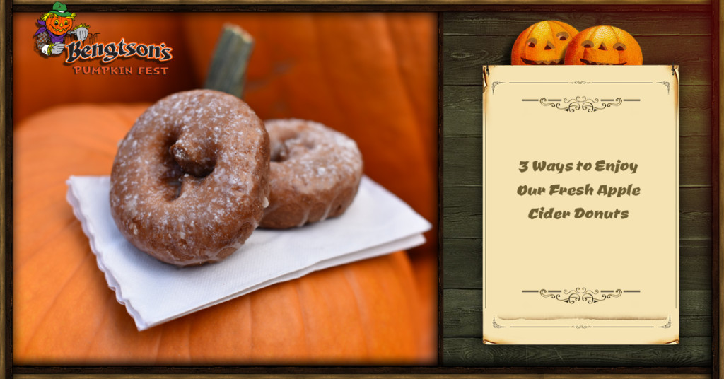 3 Ways to Enjoy Our Fresh Apple Cider Donuts