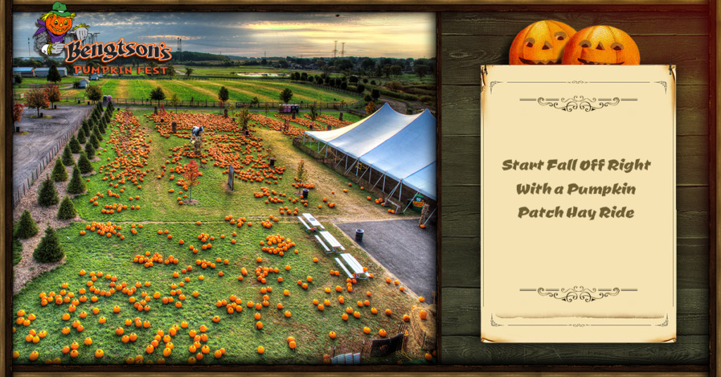 Start Fall Off Right With a Pumpkin Patch Hay Ride