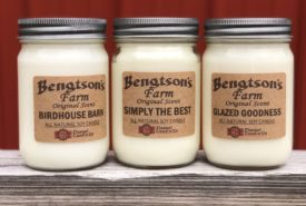 Bengtson's personal scent candles