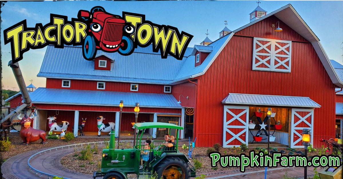 Tractor Town Family Ride at Bengtson Farm
