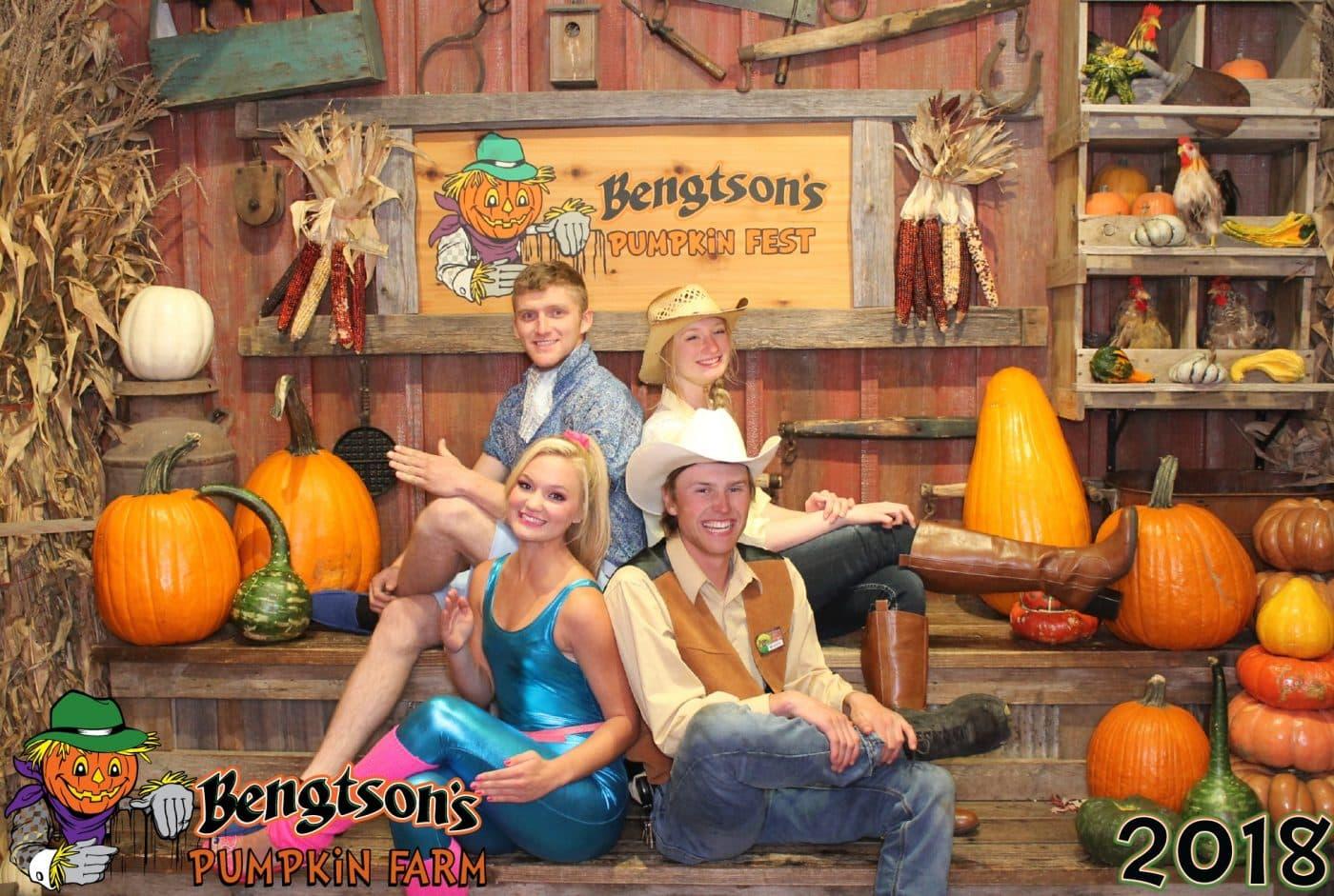 Family Photo at Bengtson Farm