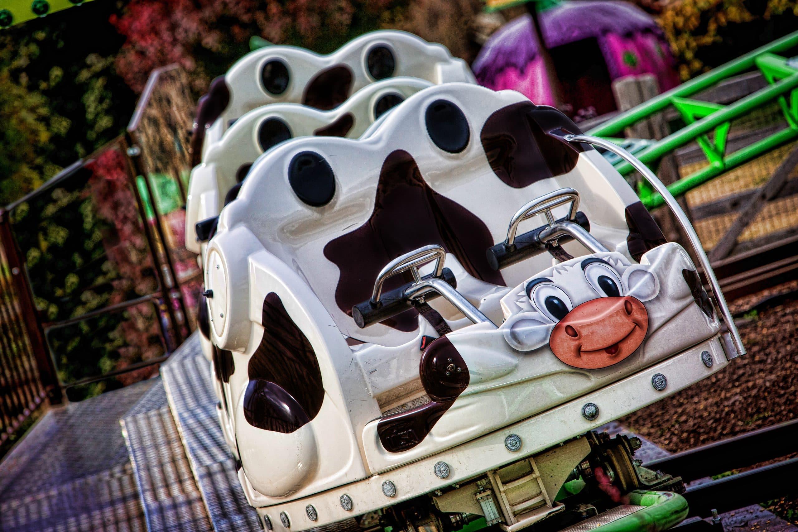 Barnyard Dance SpinCoaster ride car